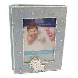 Album dziecięcy z masy perłowej - niebieski 473-3121