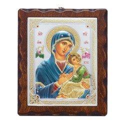 Ikona srebrna Matka Boska Nieustającej Pomocy 31187LADA