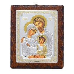 Ikona srebrna Święta Rodzina 31172LAOROA