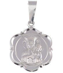 M41 Medalik srebrny - Matka Boska Częstochowska