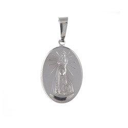 M82 Medalik srebrny - Matka Boska Fatimska