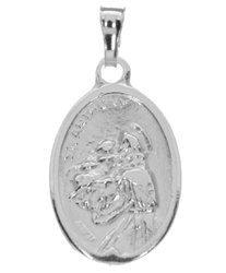 Medalik srebrny - Święty Antoni z Padwy MM019