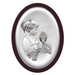Obrazek Srebrny Pamiątka I Komunii 6413AWM