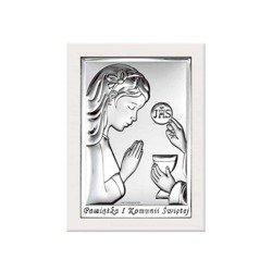 Obrazek Srebrny Pamiątka I Komunii 6491AW