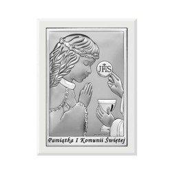 Obrazek Srebrny Pamiątka I Komunii 6570AW