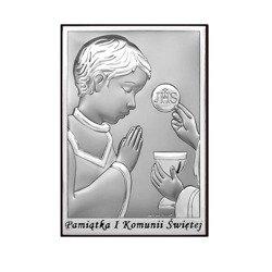 Obrazek Srebrny Pamiątka I Komunii 6570O