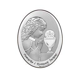 Obrazek Srebrny Pamiątka I Komunii 6571A