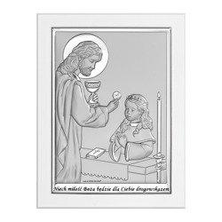 Obrazek Srebrny Pamiątka I Komunii 6594WA
