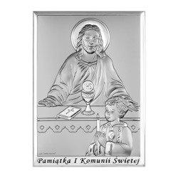 Obrazek Srebrny Pamiątka I Komunii 6595SBO