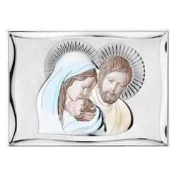 Obrazek Srebrny Święta Rodzina 81301COL