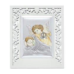 Obrazek srebrny Aniołek z latarenką 31120FPPBCERA