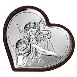 Obrazek srebrny Aniołek z latarenką 6448WM