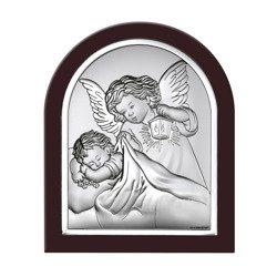 Obrazek srebrny Aniołek z latarenką 6470WM