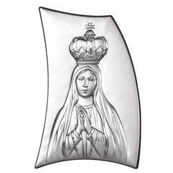 Obrazek srebrny Matka Boska 6334