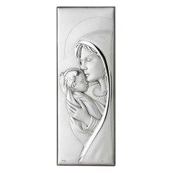 Obrazek srebrny Matka Boska z dzieciątkiem 304834A
