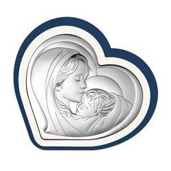 Obrazek srebrny Matka Boska z dzieciątkiem 6433BP