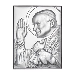 Obrazek srebrny Święty Jan Paweł 2 papież 307153A