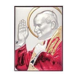 Obrazek srebrny Święty Jan Paweł 2 papież 307153DA
