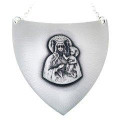 Ryngraf srebrny 925 Matka Boska Częstochowska R14