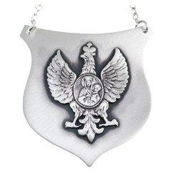 Ryngraf srebrny 925 Orzeł z Matką Boską R21