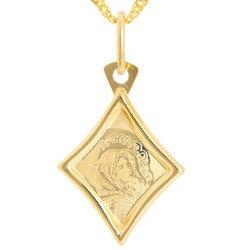 Złoty medalik pr. 585 M.B. Wędrowna romb ZM053