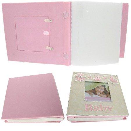 Album dziecięcy z masy perłowej - różowy 473-3232