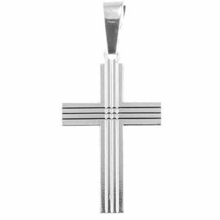 Krzyżyk srebrny M130