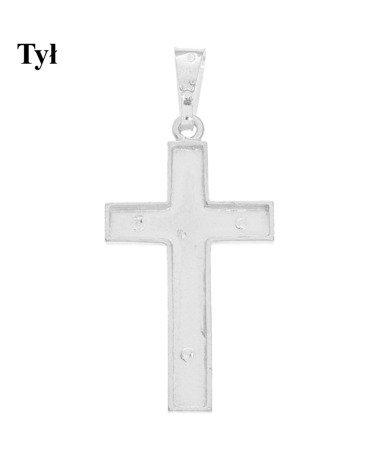 Krzyżyk srebrny MO146