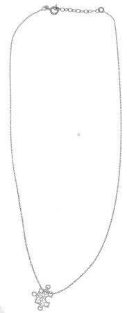 Łańcuszek Celebrytka SREBRNA - PUZEL PUZZEL AŻUR PUZELEK PUZZELEK srebro pr 925 CEL53