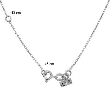 Łańcuszek celebrytka - SKRZYDEŁKO skrzydło srebro pr 925 CEL36