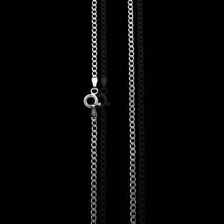Łańcuszek srebrny pr. 925 pancerka 2,2 mm 0,40 mm L50GRF6