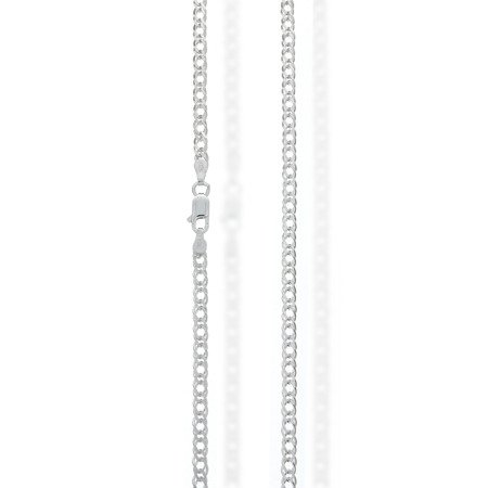 Łańcuszek srebrny pr. 925 rombo 2,6 mm 0,4 mm RMD040