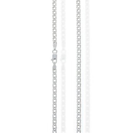 Łańcuszek srebrny pr. 925 rombo 3,2 mm 0,6 mm RMD060
