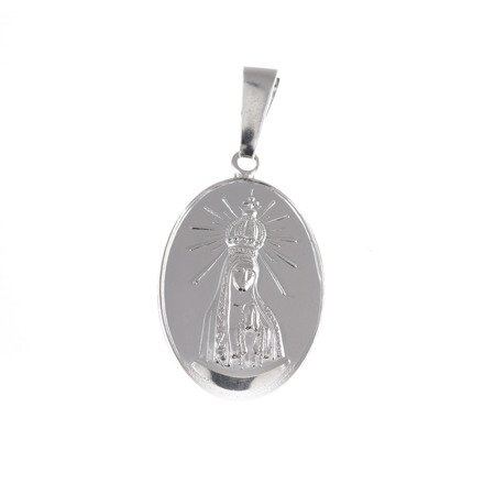 M83 Medalik srebrny - Matka Boska Fatimska