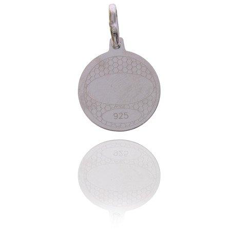 Medalik srebrny (1,5 g) - Aniołek Stróż MK013
