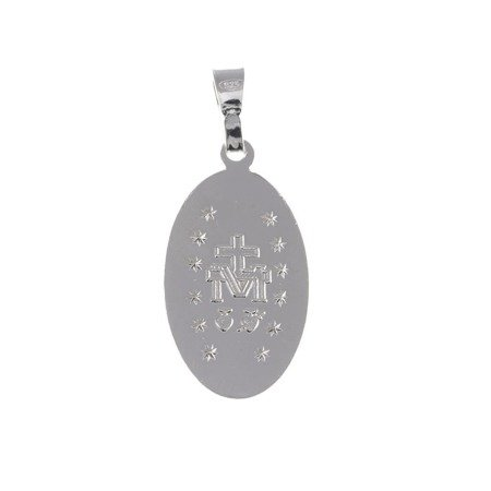 Medalik srebrny - Matki Bożej Niepokalanej Cudowny Medalik M007