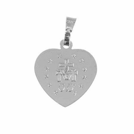 Medalik srebrny - Matki Bożej Niepokalanej Cudowny Medalik M008