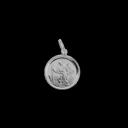 Medalik srebrny - Święty Krzysztof ML022