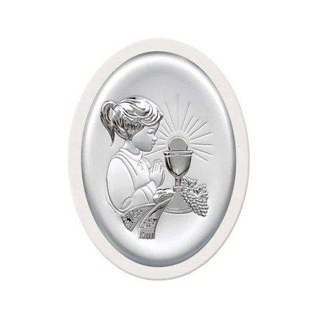 Obrazek Srebrny Pamiątka I Komunii 6413AW
