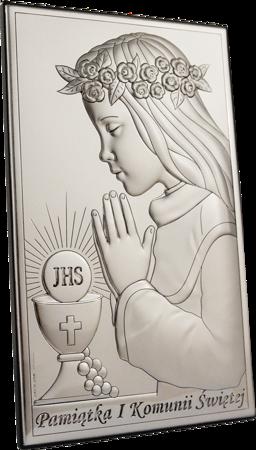 Obrazek Srebrny Pamiątka I Komunii 804