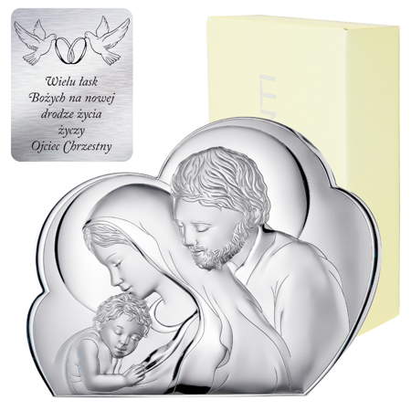 Obrazek Srebrny Święta Rodzina 81245NEU