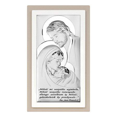 Obrazek Srebrny Święta Rodzina Beltrami Gioelli 6380STP