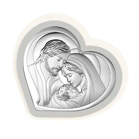 Obrazek Srebrny Święta Rodzina ramka 6432PG