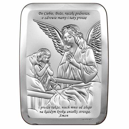 Obrazek srebrny Anioł Stróż 6508S