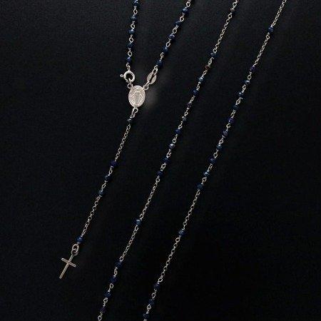 Różaniec srebrny - 5 dziesiątek na szyję 7,4-7,8 g, srebro pr. 925 RC009