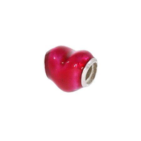 Srebrna przywieszka pr 925 Charms serce PAN057