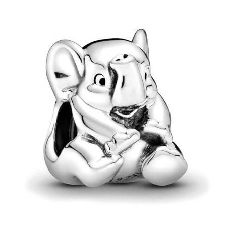 Srebrna przywieszka pr 925 Charms słonik PAN019
