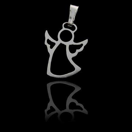 Srebrna zawieszka aniołek MM147