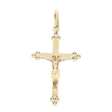 Złoty krzyżyk pr. 585  ZK060