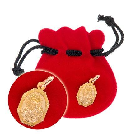 Złoty medalik pr. 585 Matka Boska Częstochowska ZM087